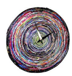 Eco-Friendly Magazine Paper Clock