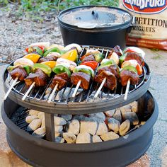 Camping Grate Stand with Grill - also Can be used as a fire pit -  sweet