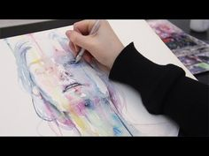another one (inside the shell) - watercolor painting - YouTube