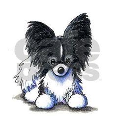 Featuring Papillon art by children's book Illustrator, Kim Niles (WESTIE THE DOG). c2007 Kim Niles