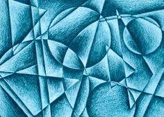 1 Middle School Art Projects, Art School, High School, 7th Grade Art, Cubism Art, Value In Art, Math Art, Art Lessons Elementary, Upper Elementary