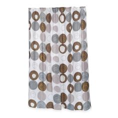 Home Fashions Madison Shower Curtain - BedBathandBeyond.com