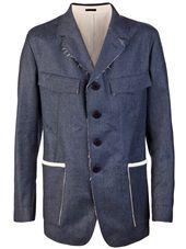 Alexander McQueen - Unfinished blazer
