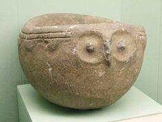 Native American  owl shaped mortar   Columbia Plateau  Flicker account mharrsch