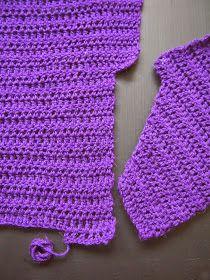Violetto mekko omakoppa.blogspot.fi/2015/01/ylhaalta-alas-virkattu-violetti-mekko.html?m=1