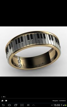 Alianza musical! Musical wedding ring!