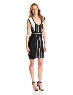 Calvin Klein Women's Color-block Dress #workdresses