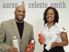 Aaron & Celeste Smith won a YEAR'S SUPPLY of Max at ILC 2012!