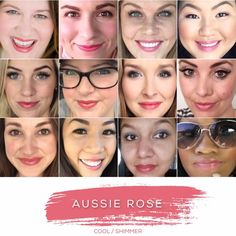 AUSSIE ROSE - Love this shade? You can order it here: www.lastinglip.ca If it's currently out of stock, it wont be listed on the website so feel free to message me via my Facebook Page at www.facebook.com/lastinglip and I'll get you one. #lipsense #aussierose #lastinglip #senegence