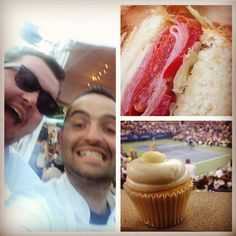 Parm NYC at #USOpen!