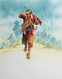 17th Century musketeer