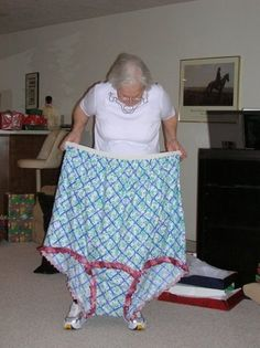 """Sometimes you just have to put on your big girl panties and show people you mean business! My favorite saying.some days I need to have these """"big girl"""" panties. Just In Case, Just For You, What Women Want, Granny Panties, Haha Funny, Funny Stuff, Funny Things, Funny Shit, Funny Humor"""