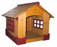 RUTLAND INDOOR/OUTDOOR DOG HOUSE: Perfect tucked in a living room nook or nesting in a grass-covered backyard, this wood dog house features a cottage-style silhouette and a removable roof. Outdoor Dog, Indoor Outdoor, Outdoor Spaces, Living Room Nook, Living Spaces, Wood Dog House, Pet Furniture, Friends Furniture, Animal House