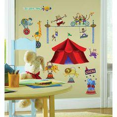 RoomMates wallstickers,  cirkus