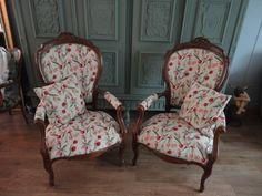 Barok stoel tulpen