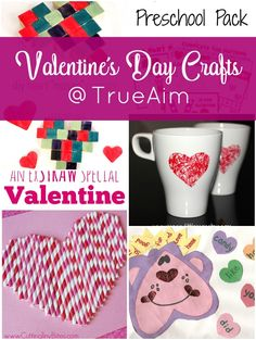 Valentine's Day Crafts - perfect gifts that kids can make!