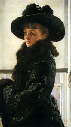 Young Lady In A Boat - James Tissot - WikiArt.org