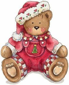 Christmas tree teddy