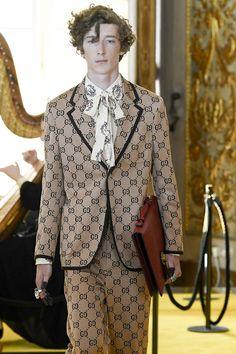 "Gucci Resort 2018 Menswear Florence Fashion Show """