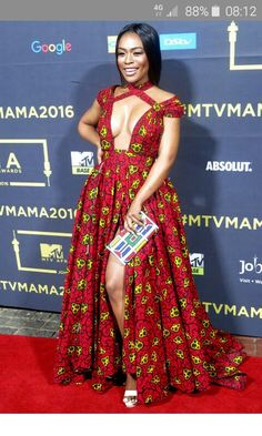 Nomzamo at the MAMA'S preparty in joburg looking all kinds of hot African Wear, African Fashion, Black History Facts, Black Women Art, Africans, African Beauty, Goddesses, Diy Clothes, Pretty Woman