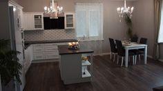 Kuchyňa KATY Biela arctic (Igor Callo) - Decodom Design Ideas, House Design, The Originals, Kitchen, Table, Furniture, Home Decor, Cooking, Decoration Home