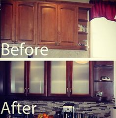Cabinet Refresh   Los Angeles, CA, United States. Cabinet Refresh Before  And After