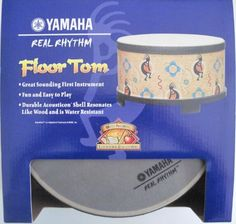 Yamaha Real Rhythm Floor Tom by Yamaha/Acousticon. $34.99. *Durable Acousticon Shell resonates like wood and is water resistant. *Great Sounding First Instrument. *Fun and easy to play. *Great Sounding First Instrument *Fun and easy to play *Durable Acousticon Shell resonates like wood and is water resistant