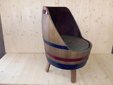 Bistromöbel barrel chair lounge set tuin barrels