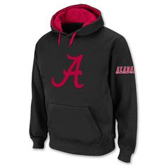 Men's Alabama Crimson Tide College Icon Hoodie. Check this out too ~ Great Sports Stories and Funny Audio Podcasts, Visit ~ RollTideWarEagle.com and while you're there, try our free Train Deck, to learn the rules of the game you love. #Alabamafootball #Alabama #RollTide