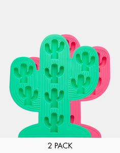 Image 1 of Sunnylife Cactus Ice Trays - Set of 2