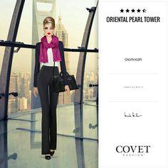 Oriental pearl tower. Jet set. Covet