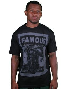 Famous Stars and Straps My Rules Black/Grey T-Shirt