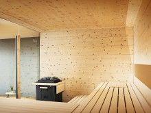 great, modern and really unusual sauna design | saunen zum träumen ... - Sauna Designs Zu Hause