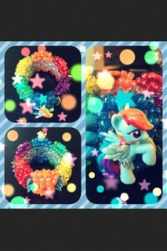 Rainbow Dash cuff. I should prolly make one for my sister....