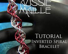 Chainmaille Tutorial - Inverted Spiral Bracelet