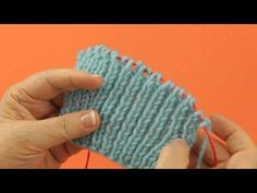 English Rib Stitch - knitting tutorial These are simple but beautiful stitches for them who loves knitting. Tunisian Crochet, Knit Or Crochet, Crochet Shawl, Crochet Crafts, Crochet Hooks, Rib Stitch Knitting, Loom Knitting, Knitting Stitches, Knitting Patterns