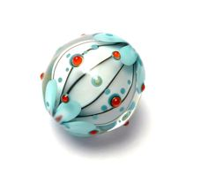 india . glass bead by carla di francesco  https://www.etsy.com/de/shop/CarleesCosmicCandies