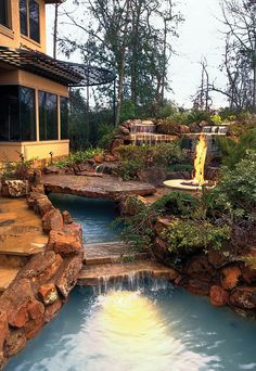 Backyard Landscaping Paradise- 30 Spectacular Natural Pools That Will Mesmerize You  [ Read More at www.homesthetics.net/backyard-landscaping-paradise-30-spectacular-natural-pools-that-will-mesmerize-you/ © Homesthetics - Inspiring ideas for your home.]