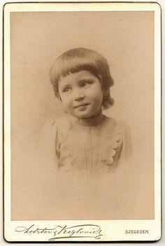 Vintage Cabinet Card, Child.
