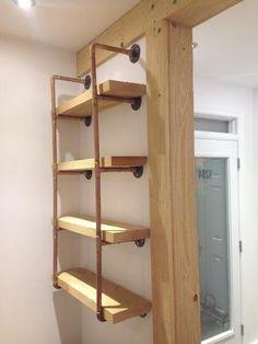 Voici comment réaliser vous-même une étagère origi...
