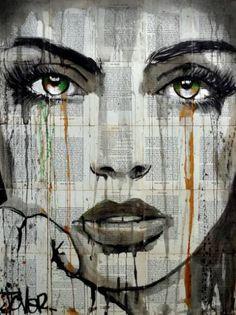 """Saatchi Art Artist Loui Jover; Drawing, """"follow"""" /explore/art/"""