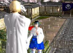 The Temple God reveals himself to Mary by WhiteLadyMary  Lady Mary , Lord , Deus , Capcom, Hideki Kamiya, Hideaki Itsuno, デビルメイクライ DMC レディ デビルハンター 主 卿 大天使 刺客 卿