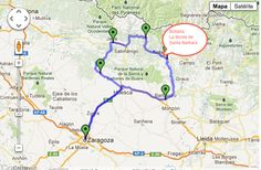 Ruta en moto:   Paseo por Huesca: 439 kms de diversión en asfalto.  Recorrido desde Zaragoza. Carreteras con curvas, paisaje y pueblos estupendos donde parar.  Tramo magnífico de curvas entre Biescas y Broto.