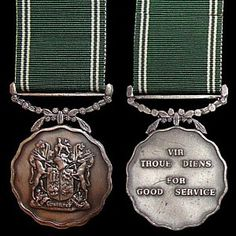 Service Medals, Defence Force, Wwi, Dog Tag Necklace, Bling, Military, Africans, Spoons, Badges