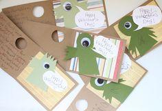 Happy Valentine's Day! Our DIY Monster Cards - Pepper Design Blog