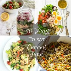 It's not just for sandwiches!  10 Creative Ways to Eat Canned Tuna|Craving Something Healthy