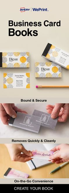 Make connections. Make deals. Make it happen—with $5 off your $20 business card order from Avery WePrint™. Use code CARD520. Offer expires 02/20/17.