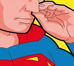 The Secret Life of Heroes. Pop Art Illustrations - Awwwards - http://www.awwwards.com/the-secret-life-of-heroes-pop-art-illustrations.html