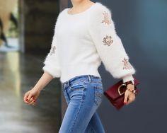 fun friday | chicwish sweater, abercrombie jeans, daniel wellington watch, street fashion, urban fashion, casual, http://redreticule.com