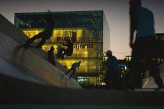 Skate night Stuttgart by Popikone Zurich, Fair Grounds, Germany, Europe, Night, City, Skate, Travel, Stuttgart